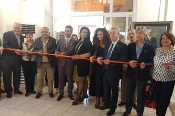 İçel Sanat Kulübünde Uluslararası Karma Sergi Açılışına Katılımımız.-01