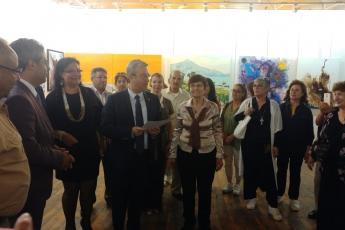 İçel Sanat Kulübünde Uluslararası Karma Sergi Açılışına Katılımımız.-03