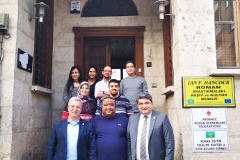 Akdeniz Roman Dernekleri Federasyonu Roman Eğitim Folklor Kültür ve Spor Kulübü Derneğini Ziyaretimiz.-03