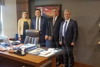Ankara Barosu Başkanı Av. Aşkın DEMİR ve Baro Yönetim Kurulu Üyesi Av. Meltem AKYOL'un TBMM'de Bizi Ziyareti