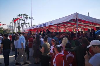 19 Mayıs Atatürk'ü Anma Gençlik ve Spor Bayramı Cumhuriyet Meydanı Protokol Resmi Töreni ve Kutlamalarına Katılımımız.-01