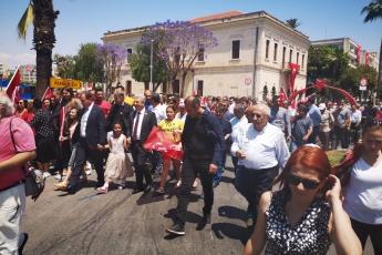 19 Mayıs Atatürk'ü Anma Gençlik ve Spor Bayramı Cumhuriyet Meydanı CHP İl Başkanlığı ve Halkımız ile Tören ve Kutlamalara Katılımımız.-01