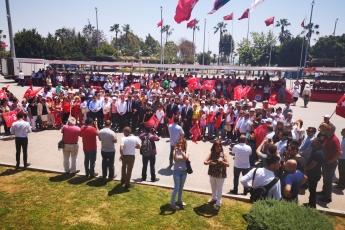 19 Mayıs Atatürk'ü Anma Gençlik ve Spor Bayramı Cumhuriyet Meydanı CHP İl Başkanlığı ve Halkımız ile Tören ve Kutlamalara Katılımımız.-02