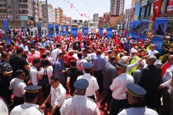 Mersin Kuvayi Milliye Anıt Katlı Kavşağının Hizmete Açılış Törenine Katılımımız.-01