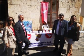 Mersin Uray Art Caddesinde 19 Mayıs ve  100.Yıl Etkinliğine Katılımımız.-03