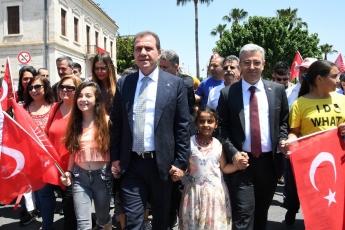 19 Mayıs Atatürk'ü Anma Gençlik ve Spor Bayramı Cumhuriyet Meydanı CHP İl Başkanlığı ve Halkımız ile Tören ve Kutlamalara Katılımımız.-06