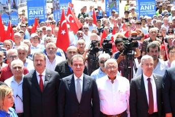 Mersin Kuvayi Milliye Anıt Katlı Kavşağının Hizmete Açılış Törenine Katılımımız.-04