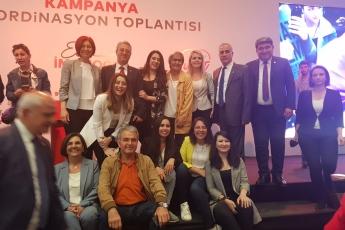 İstanbul Büyükşehir Belediye Başkanımız Ekrem İMAMOĞLU'nun Kampanya Koordinasyon Toplantısına Katılımımız.-03