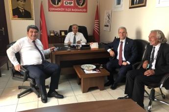 CHP Çekmeköy İlçe Başkanlığını Ziyaretimiz.-01
