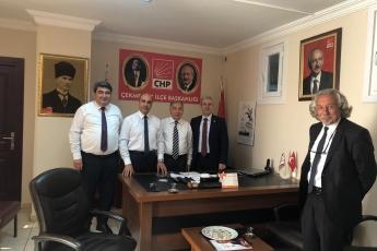 CHP Çekmeköy İlçe Başkanlığını Ziyaretimiz.-02