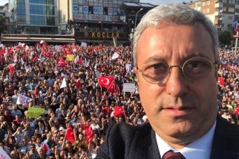 İstanbul Büyükşehir Belediye Başkanımız Ekrem İMAMOĞLU İle Çekmeköy Mitingine Katılımımız.-01