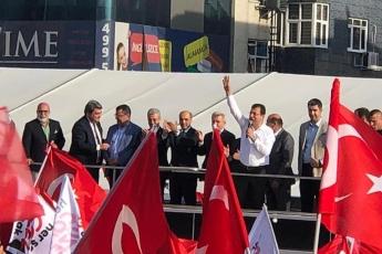 İstanbul Büyükşehir Belediye Başkanımız Ekrem İMAMOĞLU İle Çekmeköy Mitingine Katılımımız.-03