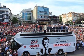 İstanbul Büyükşehir Belediye Başkanımız Ekrem İMAMOĞLU İle Çekmeköy Mitingine Katılımımız.-04