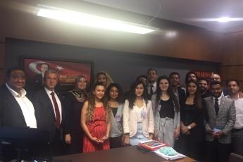 Akdeniz Roman Dernekleri Federasyonu Olarak Gelen Roman Vatandaşlarımızın TBMM'de Bizi Ziyaretleri-01