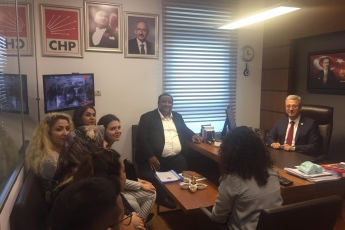 Akdeniz Roman Dernekleri Federasyonu Olarak Gelen Roman Vatandaşlarımızın TBMM'de Bizi Ziyaretleri-02