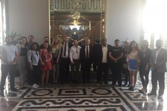 Akdeniz Roman Dernekleri Federasyonu Olarak Gelen Roman Vatandaşlarımızın TBMM'de Bizi Ziyaretleri-04
