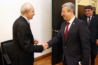 Akdeniz Roman Dernekleri Federasyonu Olarak Gelen Roman Vatadaşlarımız İle CHP Genel Başkanımızı Ziyaretimiz.-01