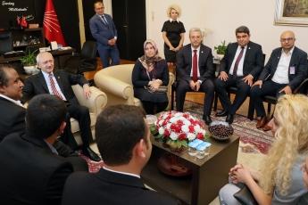 Akdeniz Roman Dernekleri Federasyonu Olarak Gelen Roman Vatadaşlarımız İle CHP Genel Başkanımızı Ziyaretimiz.-03