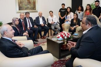 Akdeniz Roman Dernekleri Federasyonu Olarak Gelen Roman Vatadaşlarımız İle CHP Genel Başkanımızı Ziyaretimiz.-04