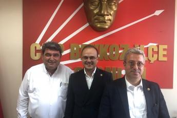 Milletvekillerimiz Cengiz GÖKÇEL ve Necati TIĞLI İle CHP Beykoz İlçe Başkanlığı Ziyaretimiz.