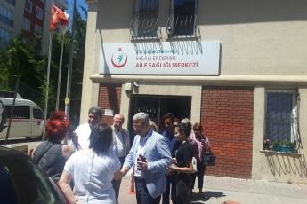 Üsküdar İhsan Erdemir Aile Sağlığı Merkezini Ziyaretimiz.