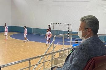 Mersin'de spora, hentbola her zaman destek tam destek...