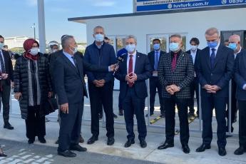 Mezitli Belediyesi ve TÜVTÜRK arasında imzalanan protokol ile hayata geçirilen Mezitli Araç Muayene istasyonunun açılışını gerçekleştirdik.