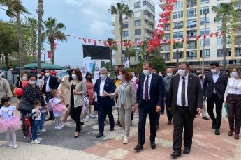 23 Nisan Ulusal Egemenlik ve Çocuk Bayramı Etkinliklerinde Büyükşehir Belediye Başkanımız Vahap Seçer ile Birlikteyiz