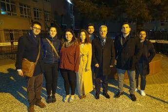 Hep birlikte İstanbul Beykoz'da demokrasi, hukuk ve baharın nöbetindeyiz.-09