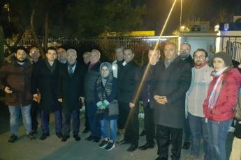 Hep birlikte İstanbul Beykoz'da demokrasi, hukuk ve baharın nöbetindeyiz.-13