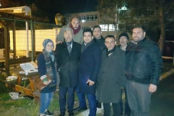Hep birlikte İstanbul Beykoz'da demokrasi, hukuk ve baharın nöbetindeyiz.-14