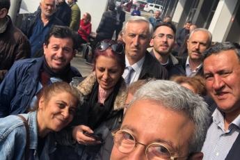 CHP Vekilleri ve Örgütü Olarak İstanbul Pendik'te İlçe Seçim Kurulu'nda Oyların Tekrar Sayımına Katılımımız.-08