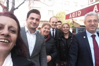 CHP Vekilleri ve Örgütü Olarak İstanbul Pendik'te İlçe Seçim Kurulu'nda Oyların Tekrar Sayımına Katılımımız.-10