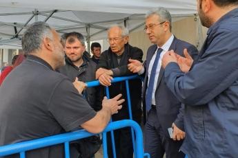 CHP Vekilleri ve Örgütü Olarak İstanbul Pendik'te İlçe Seçim Kurulu'nda Oyların Tekrar Sayımına Katılımımız.-18