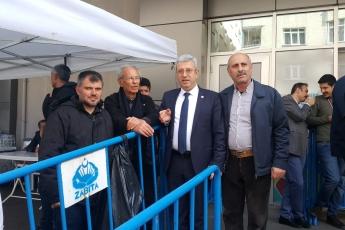 CHP Vekilleri ve Örgütü Olarak İstanbul Pendik'te İlçe Seçim Kurulu'nda Oyların Tekrar Sayımına Katılımımız.-19