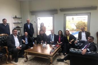 Maltepe Türkan SAYLAN Kültür Merkezinde Örgütümüz, Milletvekillerimiz, PM üyelerimiz ile Ek Sandık Kurullarının Oluşumunu Bekleyişimiz.-02