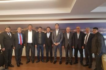 İstanbul Kartal Belediye Başkanımız Seçilen Sayın Gökhan YÜKSEL'i ziyaretimiz