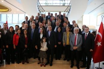 İstanbul Ataşehir Belediyesinde Belediye Başkanımız Sayın Başkan Battal İLGEZDİ'yi ziyaretimiz.