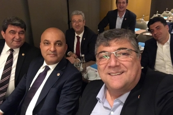 İstanbul Maltepe'de Genel Başkanımız Kemal KILIÇDAROĞLU İle İstişare Toplantısına Katılımımız.