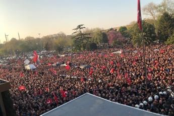 İstanbul Büyük Şehir Belediyesi Başkanı Ekrem İMAMOĞLU'nun Belediye Başkanı Olarak Halk İle Buluşmasına Katılımımız.-05