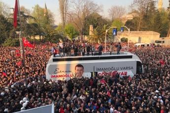 İstanbul Büyük Şehir Belediyesi Başkanı Ekrem İMAMOĞLU'nun Belediye Başkanı Olarak Halk İle Buluşmasına Katılımımız.-06