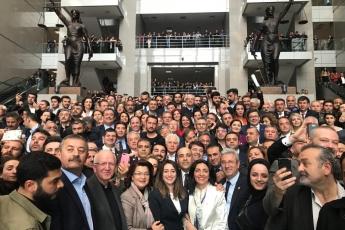 İstanbul Çağlayan Adliyesi İl Seçim Kurulundan Sayın Ekrem İMAMOĞLU'nun Mazbatasını Alımına Katılımımız.-04