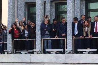 İstanbul Büyük Şehir Belediyesi Başkanı Ekrem İMAMOĞLU'nun Belediye Başkanı Olarak Halk İle Buluşmasına Katılımımız.-08