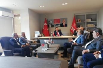 Genel Başkan Yardımcımız Sayın Seyit TORUN ile CHP Mersin İl Başkanlığı ve İl Örgütümüzü Ziyaretimiz.-01