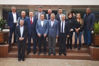 Genel Başkan Yardımcımız Sayın Seyit TORUN ile CHP Mersin İl Başkanlığı ve İl Örgütümüzü Ziyaretimiz.-02