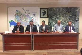 Yenişehir Belediye Başkanımız Abdullah ÖZYİĞİT'i Nezaket Ziyaretimiz.-01