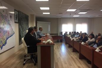 Yenişehir Belediye Başkanımız Abdullah ÖZYİĞİT'i Nezaket Ziyaretimiz.-02