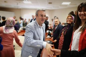 Yenişehir Belediye Başkanımız Abdullah ÖZYİĞİT'i Nezaket Ziyaretimiz.-04