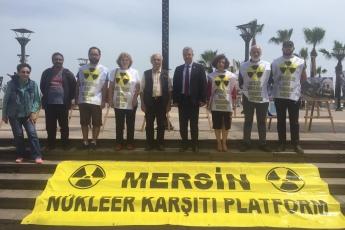 Çernobil Felaketinin 33. Yılı Resim Sergisi Mersin NKP Etkinliğine Katılımımız.-04