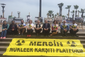 Çernobil Felaketinin 33. Yılı Resim Sergisi Mersin NKP Etkinliğine Katılımımız.-05